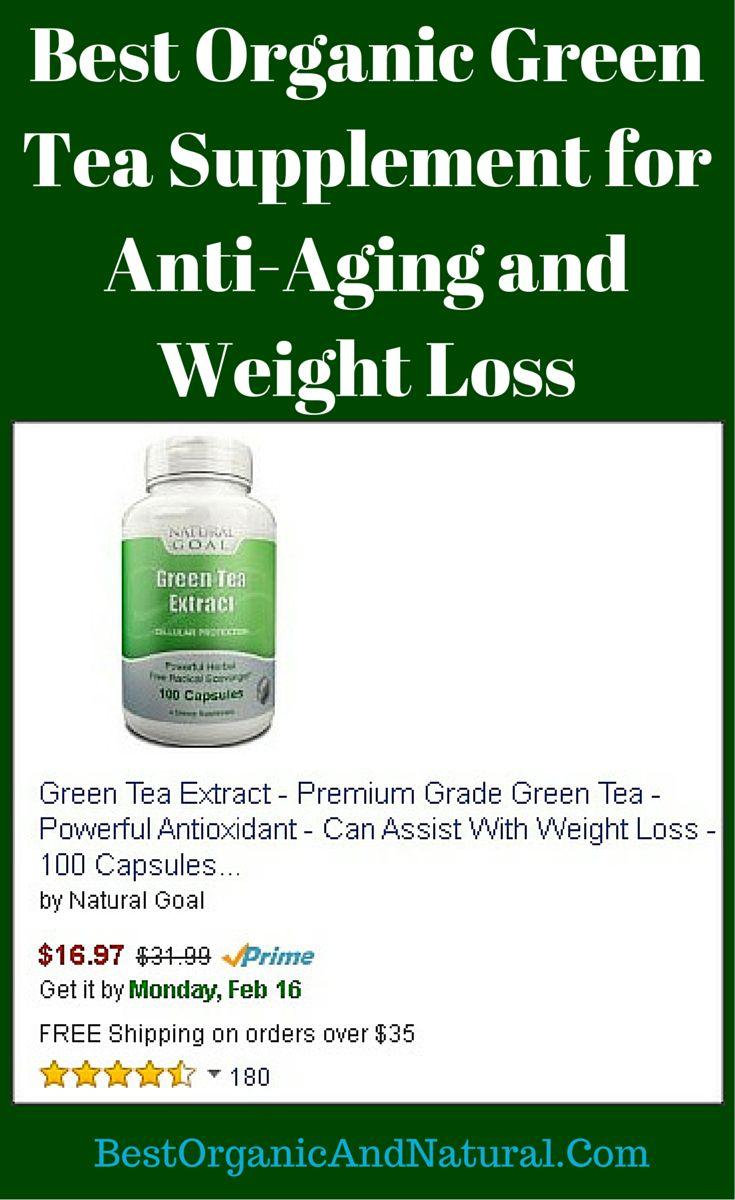 organic green tea and weight loss