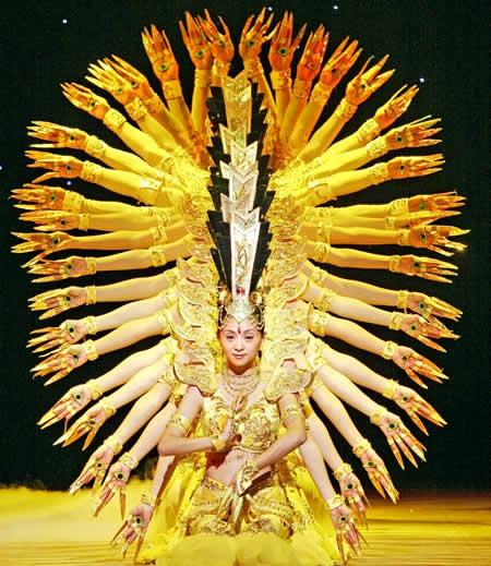 Thousand-hand Guanyin dance