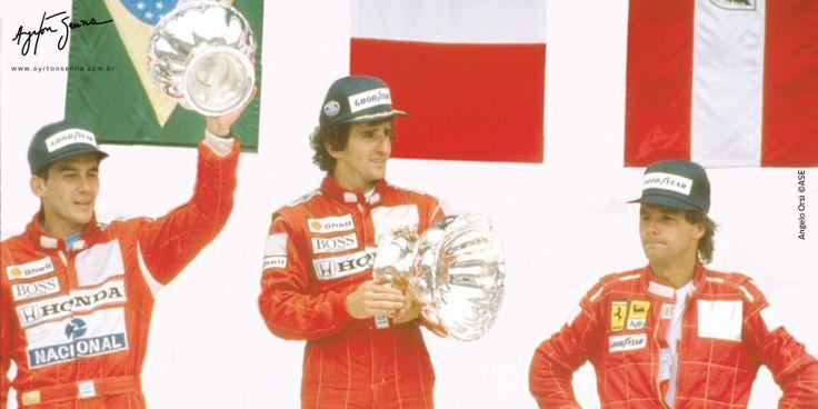 Grande Prêmio do México – 1988   Ayrton Senna