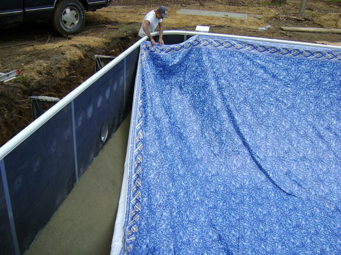 Swimming Pool Liner installation can usually be done in a few hours.