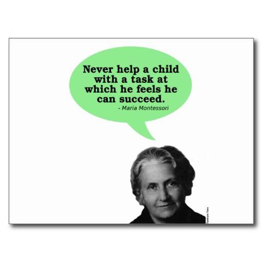 Maria Montessori Quotes: 50 Best Montessori Quotes Images On Pinterest