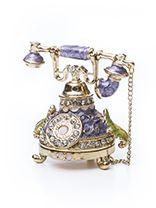 Шкатулка «Старинный телефон». Металл. Салоны подарков и предметов интерьера «Эксклюзив Стекло»