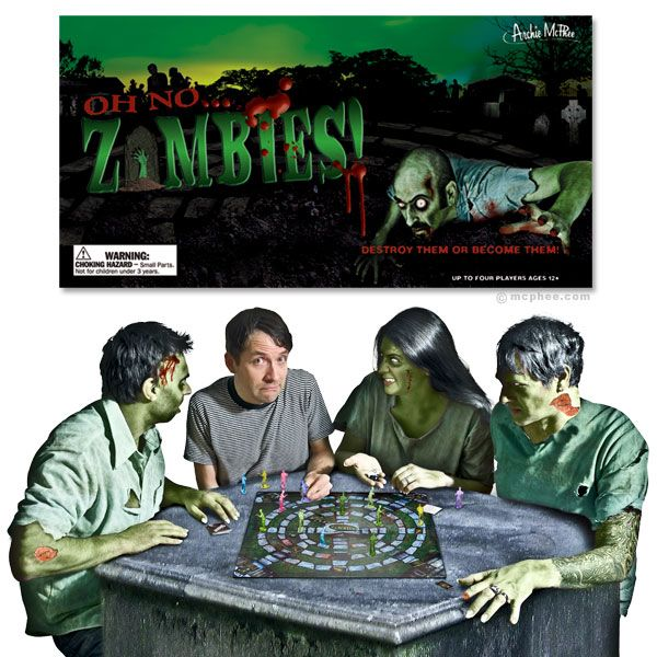Oh No…Zombies! Board Game $18.99