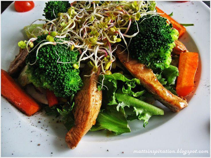 Kurczak na warzywnej pierzynce  #mattsinspiration #chicken