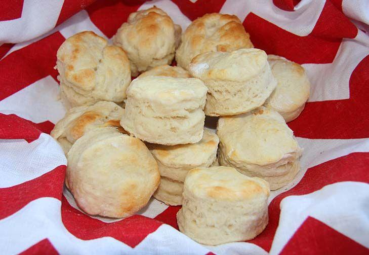 Australian scone-looks just like American buttermilk biscuit.