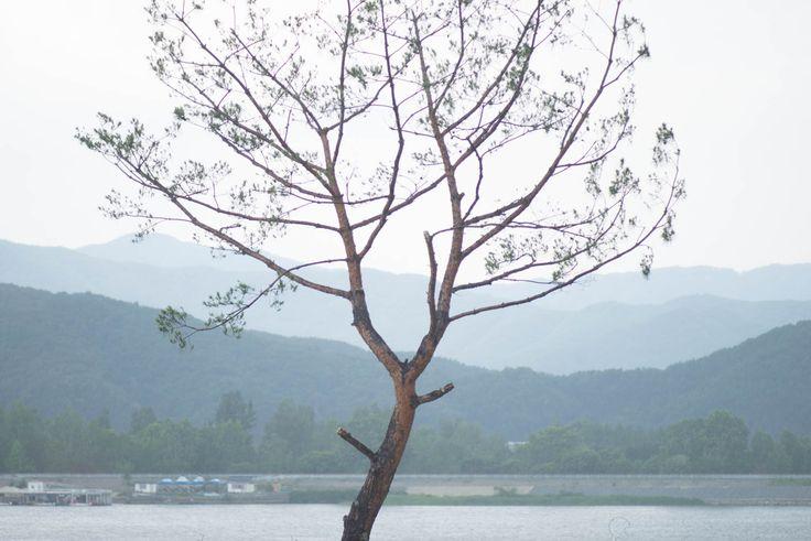 Chuncheon: View over lake