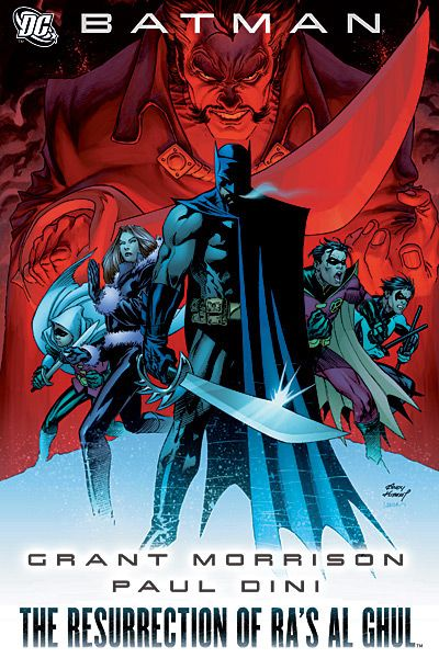 Number 59 (owned)  Batman: The Resurrection of Ra's al Ghul 	Batman #670-671, Annual #26; Robin (vol. 2) #168-169, Annual #7; Nightwing #138-139; Detective Comics #838-839 	May 2008