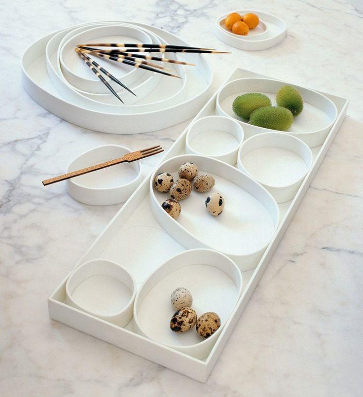 Corian® serving bowl VERTIGO by B&B Italia | #design Naoto Fukasawa