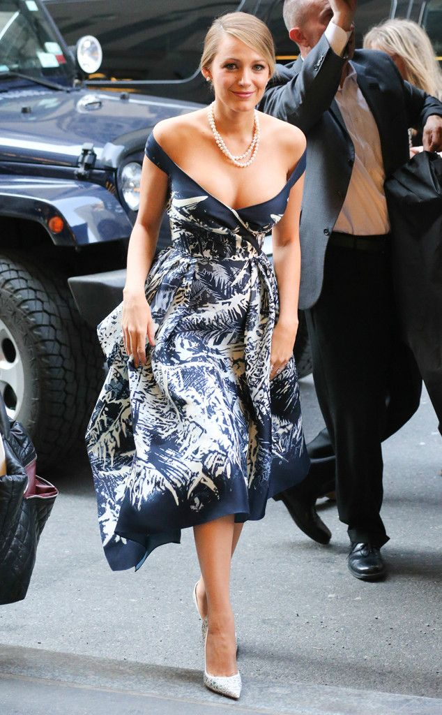 Pretty In Print From Blake Lively 39 S Best Looks Blake Lively Zuhair Murad And Classic Chic