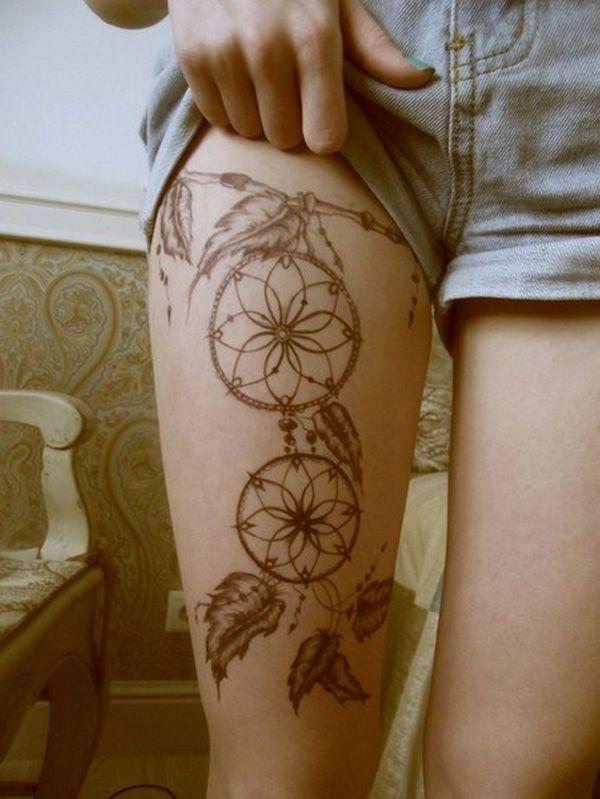 17 meilleures id es propos de tatouage attrape reve sur pinterest tat d 39 attrape r ves - Tatouage attrape reve cuisse ...