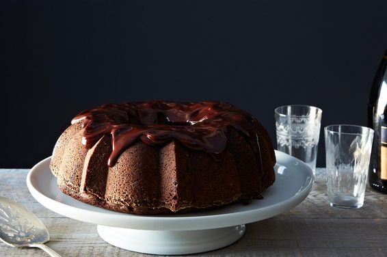 Chocolate-Mashed Potato Cake with Ganache, a recipe on Food52