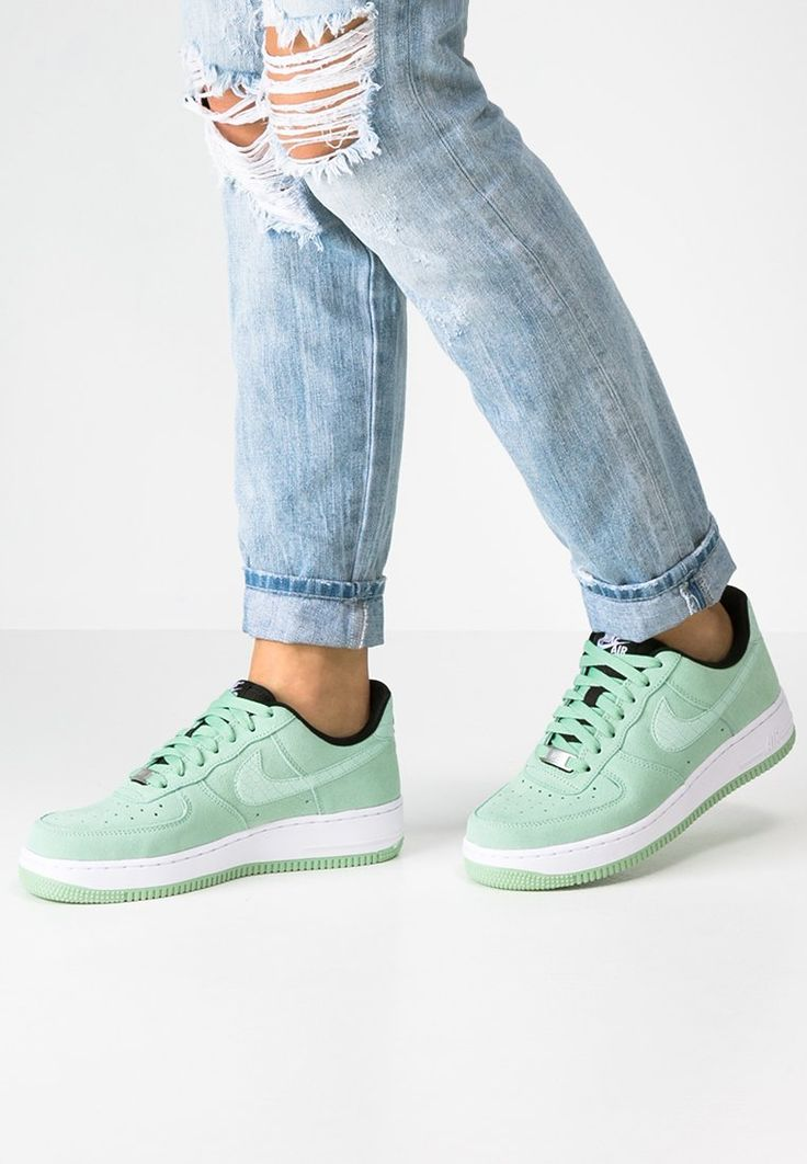 buty nike air force 1 '07 seasonal enamel green