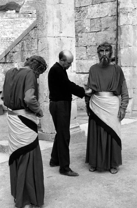 "TRAVEL'IN GREECE I Henri Cartier-Bresson - Theater festival. Interval during the play ""Medea"" (Maria Callas in the main role)"