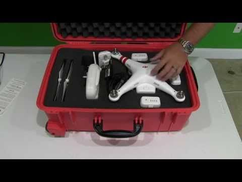 This is the best DJI Phantom 2 Vision Plus case for air travel.  It is likely the maximum carry-on size as well but I prefer to check mine below the airplane.  This case will work well for DJI Phantom 2 and DJI Phantom 1 drones too!  Please share and enjoy all of my other P2V+ videos too!