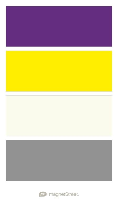 Plum Clic Yellow Ivory And Gray Free Color Swatches Ordered At