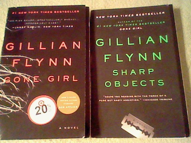 Gone Girl, Sharp Objects (water damaged) by Gillian Flynn; 2 paperback book lot  | eBay