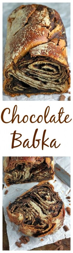 Classic Chocolate Babka made at home! Click through for the step-by-step recipe.