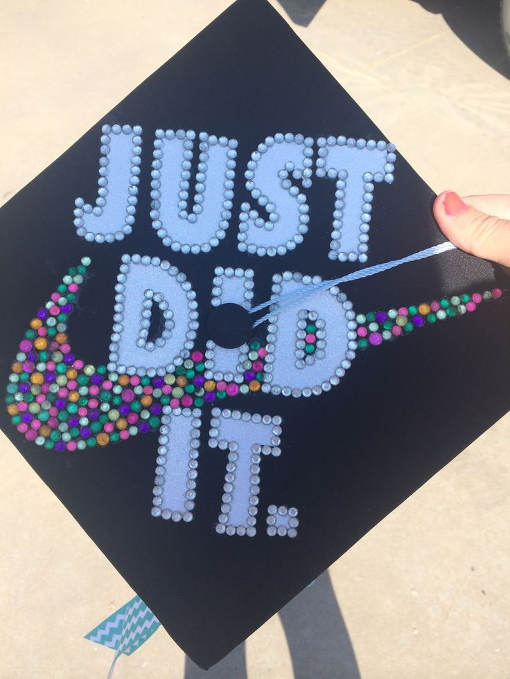 My Graduation Cap Nike Swoosh 2014 Crafts