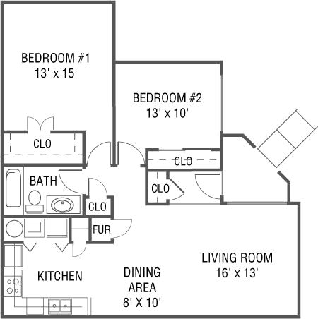 21 Best Images About Houses On Pinterest House Plans Two Bedroom House And Terrace