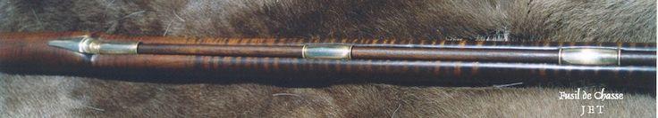 Ram Rod and Pipes detail, Les Fusil De Chasse, 16 gauge / .66 cal. Flint Lock. 08 / 25 / 2007