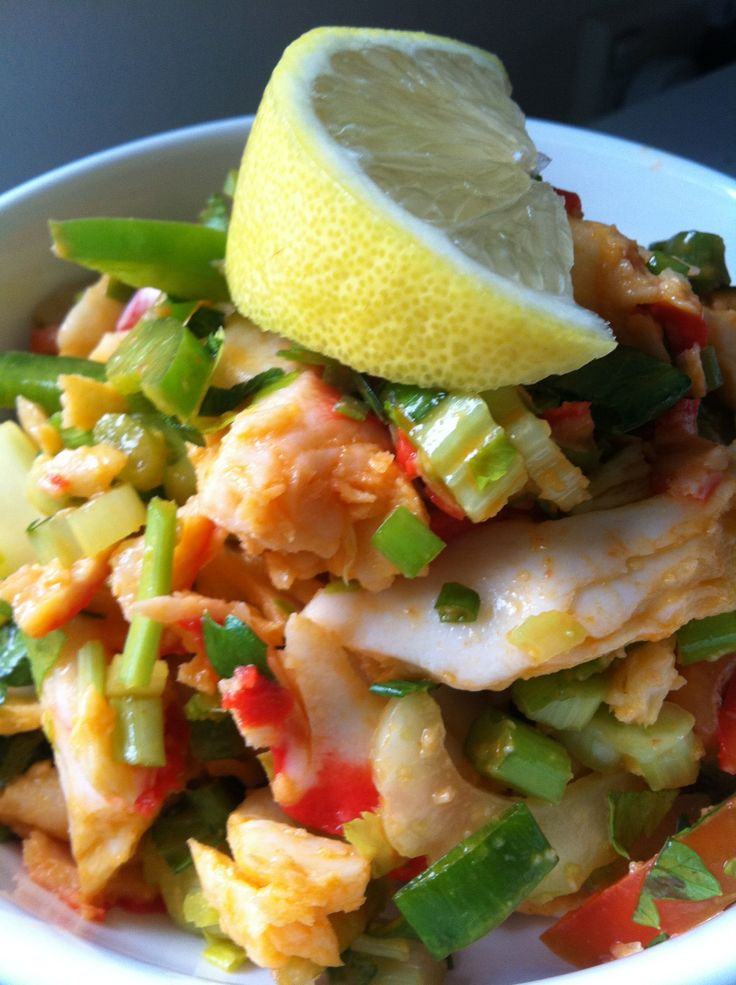 Seafood Salad http://laylahvuletic.wix.com/my-cookbook