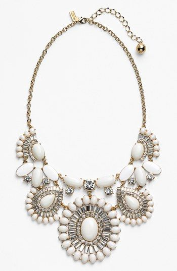kate spade new york 'capri garden' statement necklace available at #Nordstrom