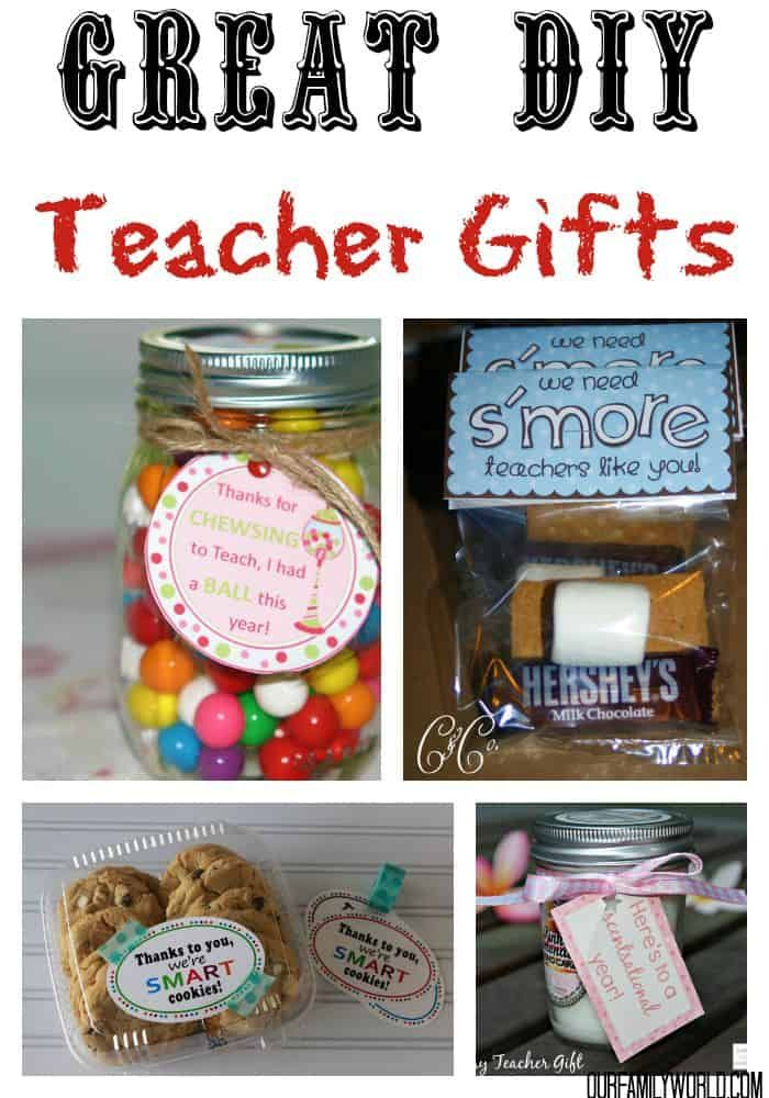 82983101296 These 7 Great DIY Teacher Gifts are a perfect way to make your kids  teachers know how important they are this fall.