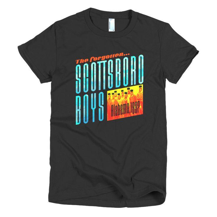 The Scottsboro Boys - Short Sleeve Women's t-shirt