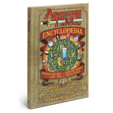 Heck yeah! Explore the magical world of Ooo with Jake and Finn, along with Ice King, Princess Bubblegum, Marceline the Vampire Queen, and all the Adventure Time characters with this hardcover encyclopedia.