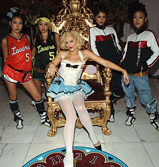 Gwen Stefani & Harajuku Girls Found on Google from myfashionlife.com