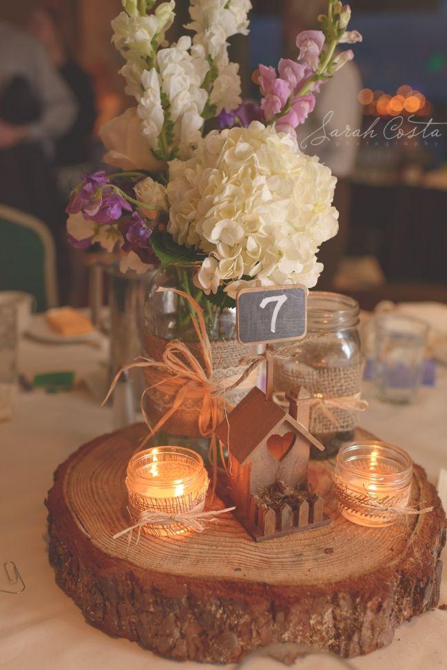 Va Va Bloom » Wedding Florist  Vintage centerpieces