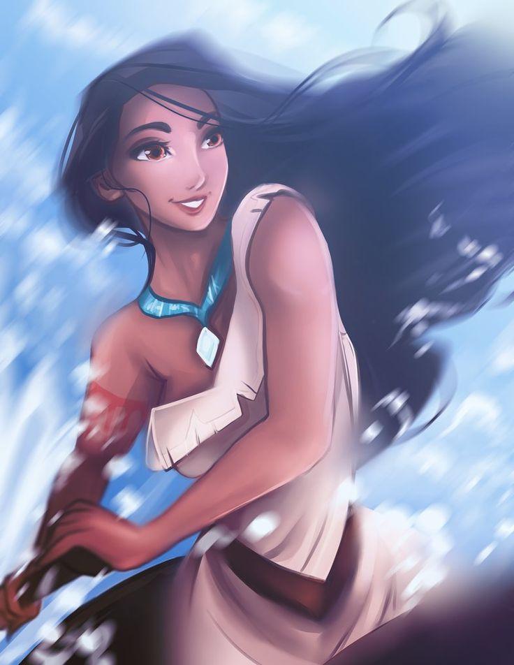 Disney Princess/Heroine - Pocahontas by Kachumi.deviantart.com on @DeviantArt - More at https://pinterest.com/supergirlsart #fanart