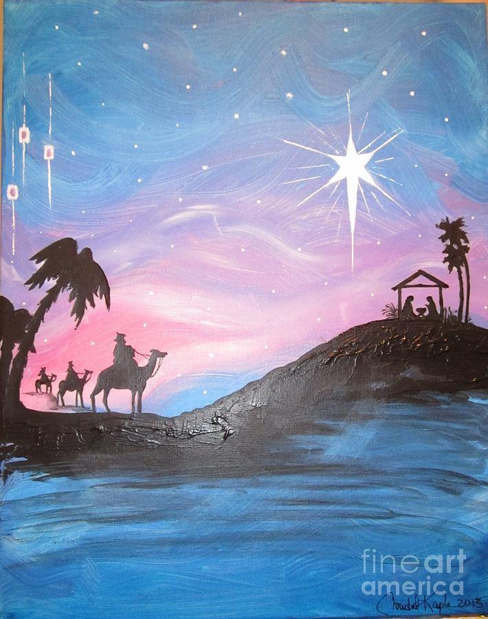 Nativity Painting  - Nativity Fine Art Print