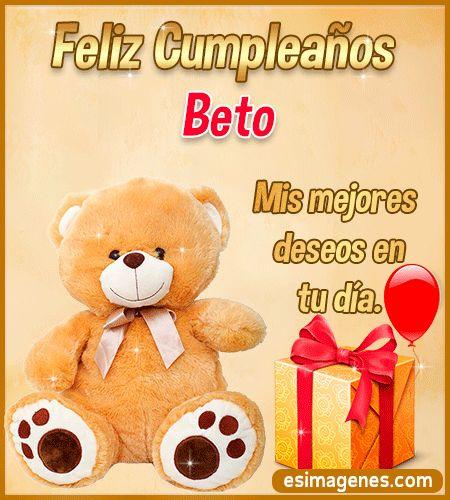Feliz Cumpleaños Beto