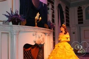 enchanted tales with belle meet and greet