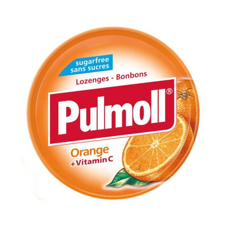 Buy Pulmoll Orange + Vitamin C + 45g | Guardian