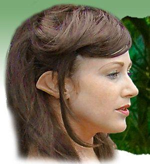 Fairy Pixie Elf Cosplay LARP Halloween Latex Pointed Ear Tips.