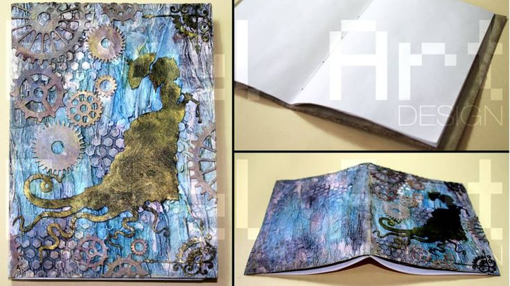 # Take a Note # Lady Cthulhu - quadernino per appunti fatto a mano