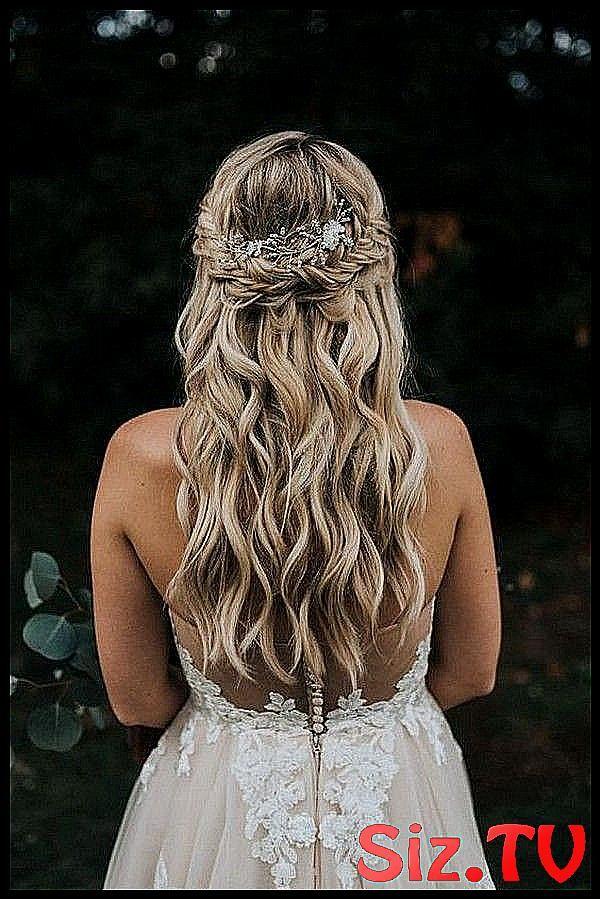 20 Brilliant Half Up Half Down Wedding Hairstyles  #Brilliant #classpintag #explore #hairsty #Hairstyles