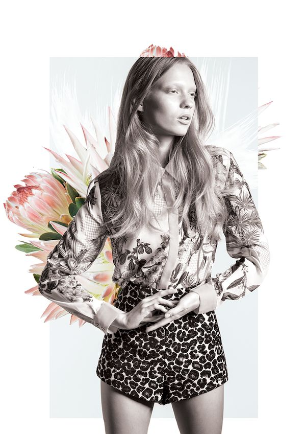 STYLE LOGISTICS | Fashion Blog: A Floral Wonderland by Cameo The Label