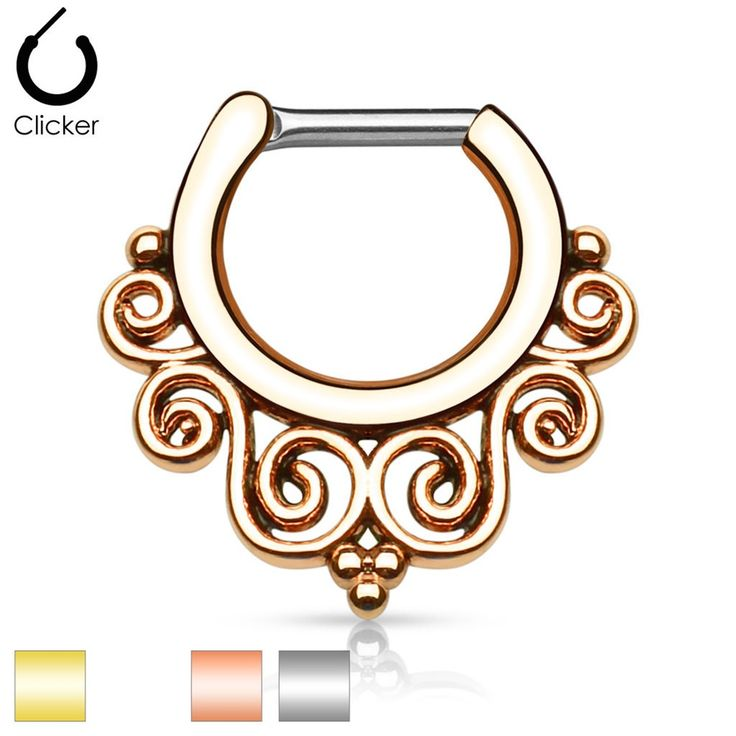 size 16g and 14gBar Length: 6mmInside: W:8.5mm, H:7.3mmWhole: W:16.9mm, H:17.3mmBar is made of implant grade surgical steel and body is made of brass with ion plating.BODY JEWELRY IS FINAL SALE. NO RETURNS/REFUNDS.