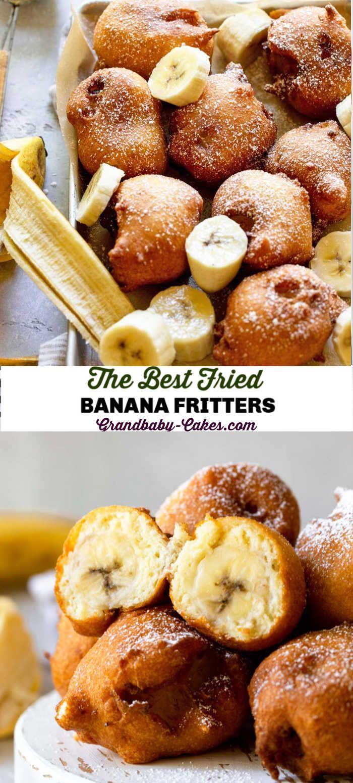 fried banana fritters recipe in 2020 banana fritters yummy food dessert fried bananas pinterest