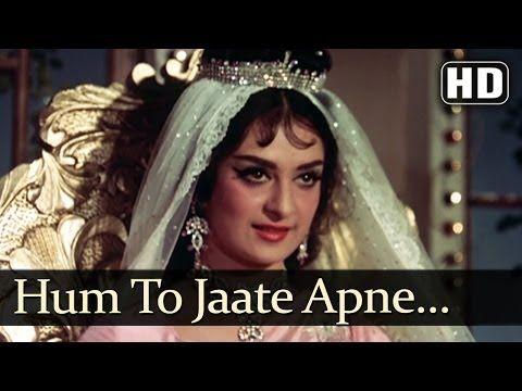 Hum To Jaate Apne Gaon (HD) - Diwana Songs - Raj Kapoor - Saira Banu - Mukesh - YouTube