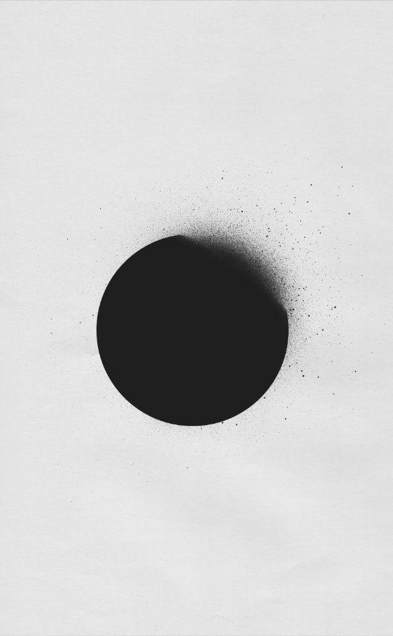 black 01 Art Print
