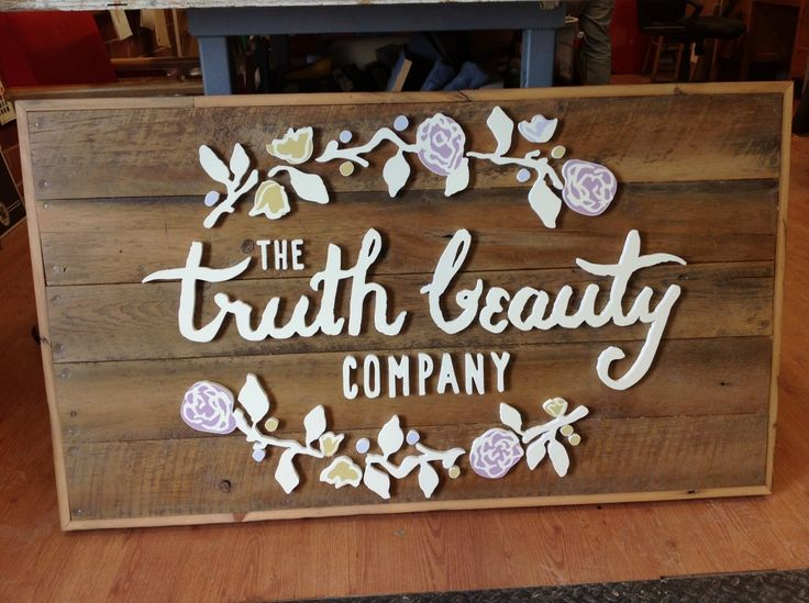 the truth beauty company custom 3 dimensional sign the sign depot
