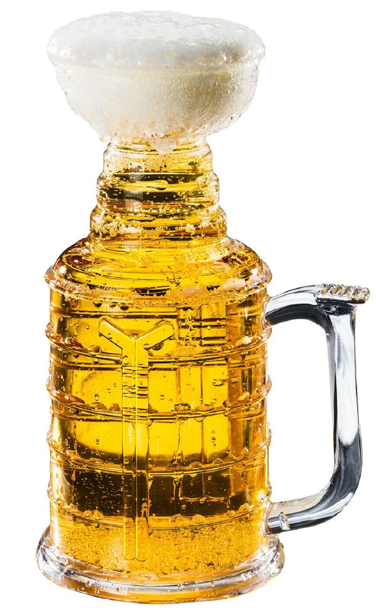 We've all dreamed about drinking from the greatest trophy in sports history. Now you can with your very own 25 ounce STANLEY STEIN.