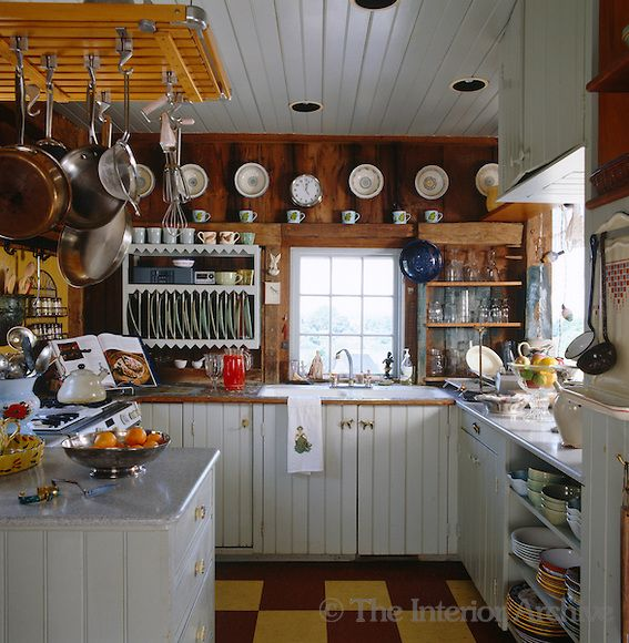 Local Kitchen: The Clapboard Family Kitchen Is Festooned With Vintage