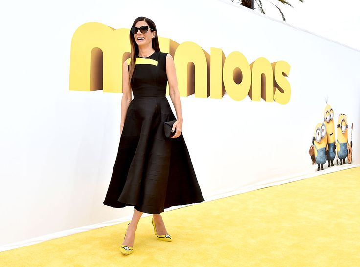 They've appeared on Tic Tacs, Swiffers, and Twinkies, and nowthe Minions have even found a home on Sandra Bullock's feet.