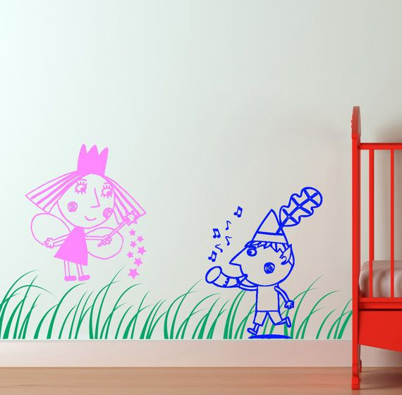 Great Items Similar To Ben And Hollyu0027s Little Kingdom Wall Art   Vinyl On Etsy Part 9