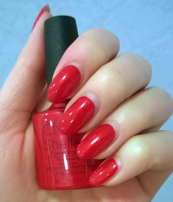What is Shellac? | nail art | Red acrylic nails, Acrylic ...